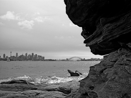 Twitchhiker - Sydney, as seen from Shark Island